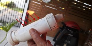 valve wrong way